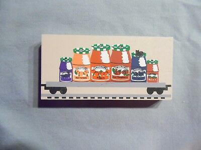Cats Meow Village Smuckers Train Car  #264   1996