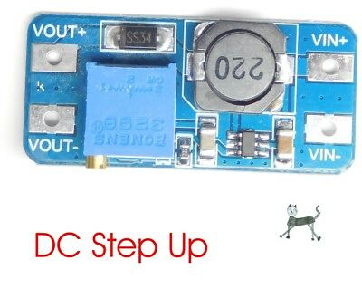 MT3608 einstellbares DC Mini Step-Up Modul bis 28V 2A Ausgang