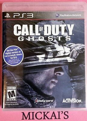 Call Of Duty - Ghosts Playstation Ps3 Special Forces Brand New & Factory Sealed