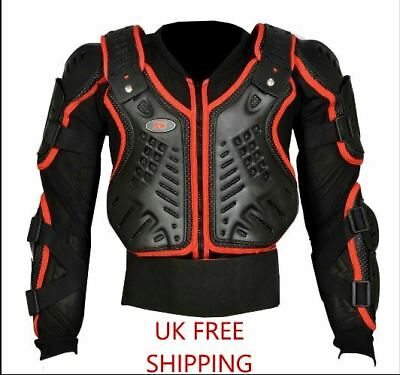 Children Kids Protection Body Armour Motorcycle Motorbike Motocross spine Protec