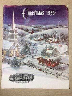 Foye's Vintage CATALOG - Christmas Canada 1953 Colour Pictures Ladies Items