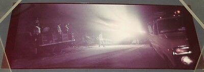 Close Encounters (1977) Rare Prod-Used Photo Efx Storyboard -Guide Ships On Road