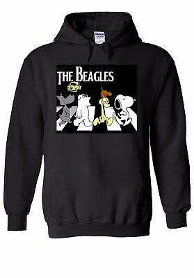 The Beagles Parody Inspired The Beatles Family Guy Garfield Dog Unisex Hoodie