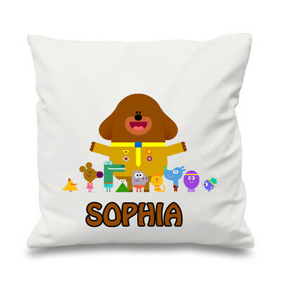 Personalised Hey Duggee 41cmx41cm Cushion Cover 100% Cotton