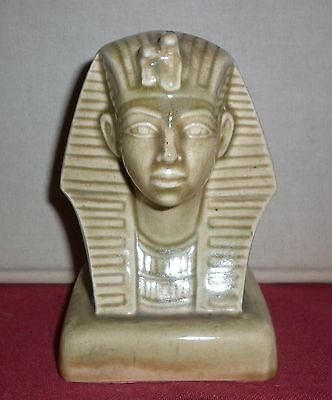 Vintage  Porcelain Egyptian Revival Bust Great  Condition