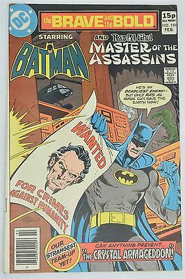 DC Comics Brave And The Bold 159 1980 FN- Vintage Batman Ras Al Ghul Jim Aparo
