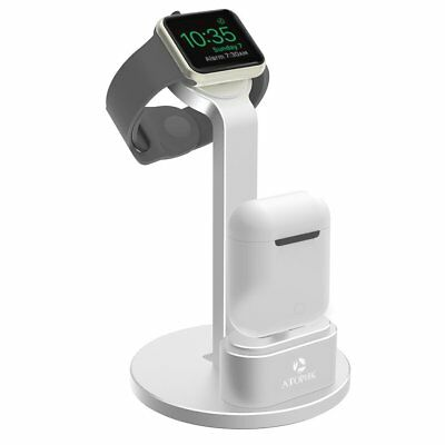 Multifunctional Portable 2 in 1 Aluminum Charger Docking Station Cradle for