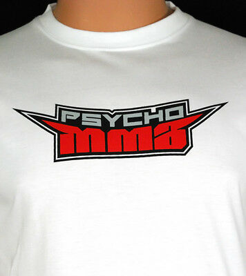 MMA T-Shirt Ideal for Martial Arts Training or Casual Wear - 100% Cotton