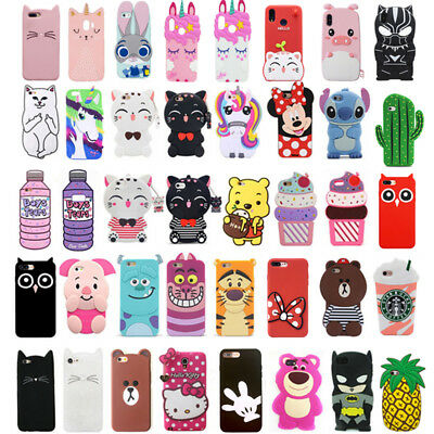 Cute 3D Animal Cartoon Soft Silicone Case Cover For Samsung Galaxy J3 J5 J7 2016