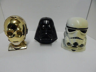 Star Wars Micro Machines Playsets C3PO, Stormtrooper, Darth Vader