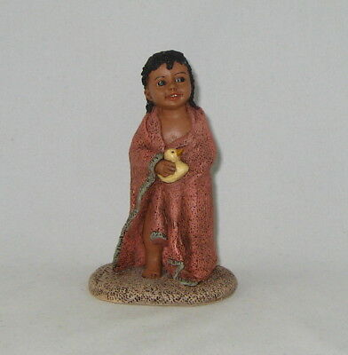 "ALL GOD'S CHILDREN Figurine By Martha Holcombe 1556 ""MELISSA"" New In Box"