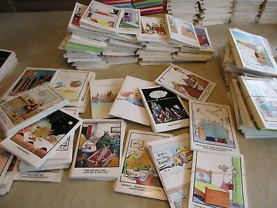 The FAR SIDE Comics GREETING CARD LOT OF (15) NEW, VINTAGE  PRE-1991 CARDS! @@