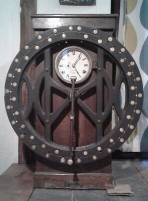 Rare International Time Recorder Clock