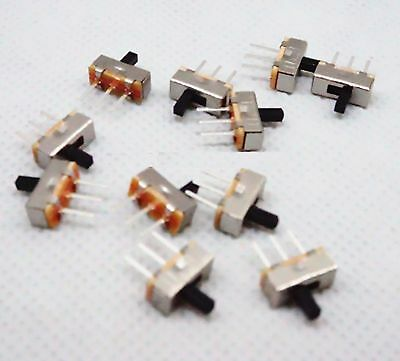 5x SS-12D00 SS12D00 Toggle Switch on-off mini 1 Way 2 Band Slide PCB Mount TGL01