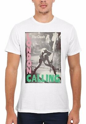 The Clash London Calling Rock Punk Men Women Vest Tank Top Unisex T Shirt 1877