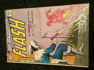 The FLASH #114 (DC) 2nd CAPTAIN COLD!  Infantino/Giella c/a. Scarce Key 1960!