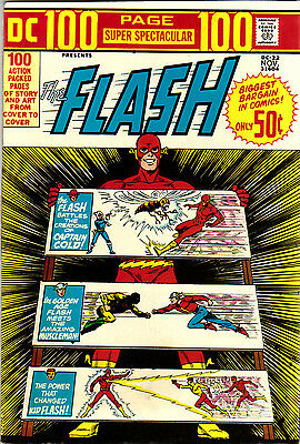 DC 100 Page Super Spectacular #22 The FLASH!  Squarebound RARE NM. MOVIE 1973!