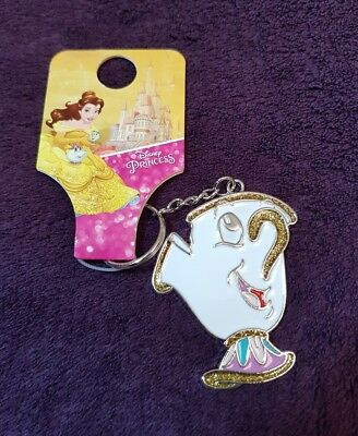 Disney Beauty & Beast Chip keyring  Primark BNWT