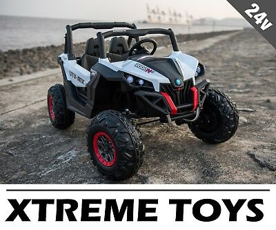 New Xtreme 2018 24v Ride On Big 4x4 Off Road Two Seat Jeep Child S Battery