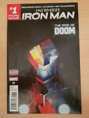 Marvel infamous iron man #1-3, excellent condition