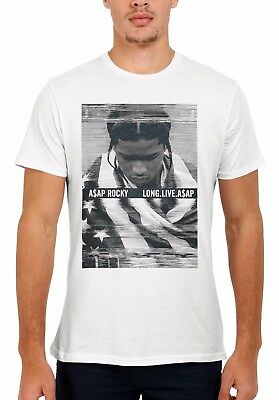 ASAP Rocky Long Live Funny Hip Hop Rap Men Women Vest Tank Top Unisex T Shirt 2