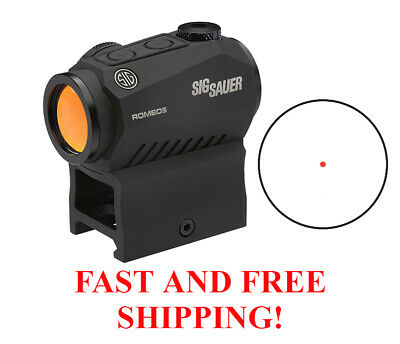 Sig Sauer Romeo 5 Compact Red Dot Sight 1x20mm 2 MOA Reticle SOR52001 FAST SHIP
