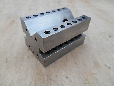 "MACHINIST MADE V-BLOCK  , 2""H x 2-1/4"" W x 3-3/8""L"