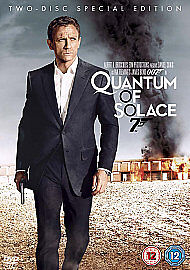 Quantum of Solace (DVD, 2009, 2-Disc Set, Box Set) FREE POSTAGE!!
