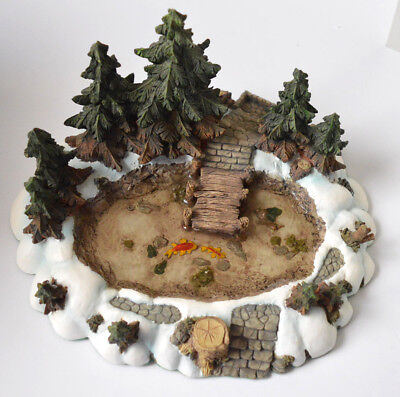 """NEW Department 56 Village Collection """"Pine Point Pond"""" #52618 MINT BEAUTIFUL"""