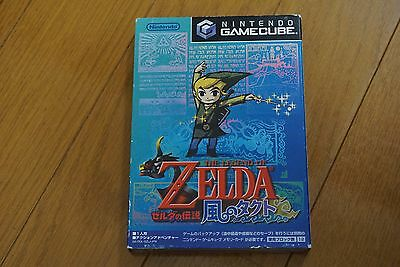 The Legend of Zelda: The Wind Waker Nintendo Gamecube Japan Japanese TESTED!