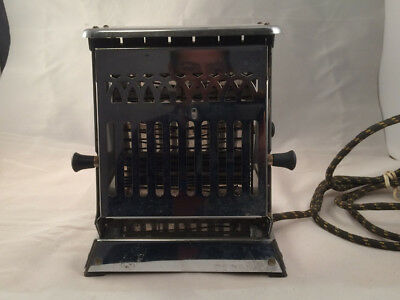 Antique Vintage Toaster Simplex D-32 Electric. Early 1900s. 4 Amps - FREE SHIP