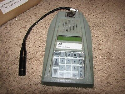 *3M* D2475AA Station Selector with Mic   Intercom System
