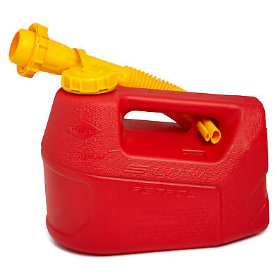 New Willow 5L Fuel Jerry Can w/ Detachable Non-Spill Nozzle Car Refilling Travel