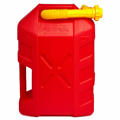 New Willow 20L Fuel Jerry Can w/ Detachable Non-Spill Nozzle Car Travel