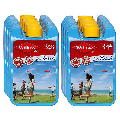 New Willow Mini Ice Brick 150mL 24Pc Set Perfect  Cooling Lunchboxes Lunch Food