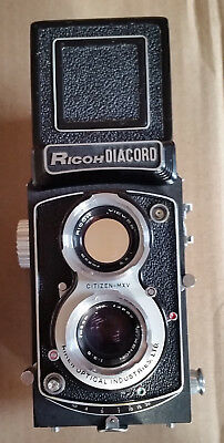Ricoh Diacord Nice Condition TLR 120mm Camera