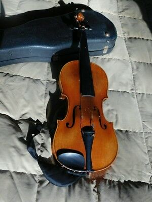 RUGGERI Italian? Cremona VIOLIN Made in Germany DURABILT GEIB INC Case ANTIQUE