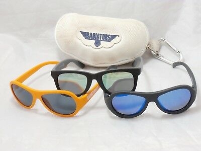 3 x Sunglasses for Babies Age 0-2 Years Old, Babiators etc. Various Colors #A43