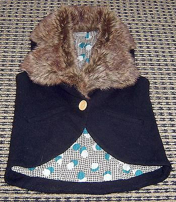 Sudo Girls Vest With Faux Fur Sz 7