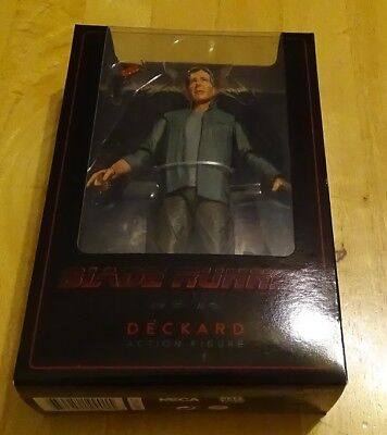 "Neca Blade Runner 2049 Deckard 7"" Action Figure Series 1 Factory Sealed Nip"
