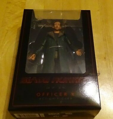 "Neca Blade Runner 2049 Officer K 7"" Action Figure Series 1 Factory Sealed Nip"