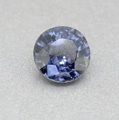 Natural Untreated RARE Round (BIG Face) Cobalt Blue Spinel 1.67 Ct.(00318)