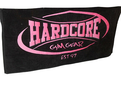 Hardcore gear gym training towels Sydney MMA Fitness Boxing Sport