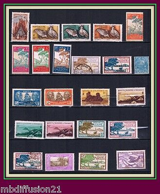 Lot De 23 Timbres-Nouvelle Caledonie+Wallis+Neuf+Obl+Taxe+ Pa-Stamp**V.scan