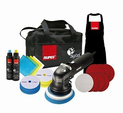 Rupes BigFoot duetto Deluxe Edition Poliermaschine LHR 12E/DLX