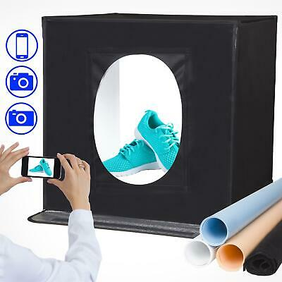 "Photo Studio Light Box Tent 40x40cm 16x16"" Portable Photography Shooting Kit"