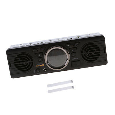 12V FM Cars Stereo Radio Bluetooth 1 DIN In Dash Handsfree SD/USB AUX Head
