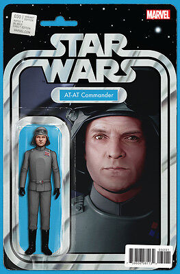 STAR WARS #30 - AT-AT Commander ACTION FIGURE VARIANT -  BOARDED. FREE UK P+P!