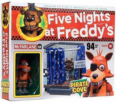 McFarlane Five Nights at Freddys Pirate Cove Construction Set
