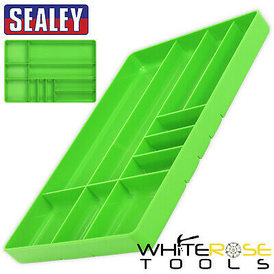Sealey Premier Hi-Vis Green Tool and Parts Organiser Tray 405 x 280 x 40mm